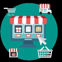 digital-market-vector-ecommerce
