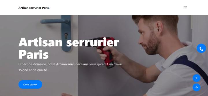 Artisan serrurier Paris