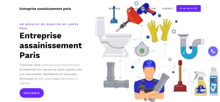 Entreprise assainissement Paris