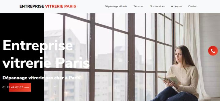 Entreprise vitrerie Paris
